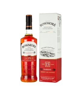 Bowmore 15 Años Darkest (70cl 43%)