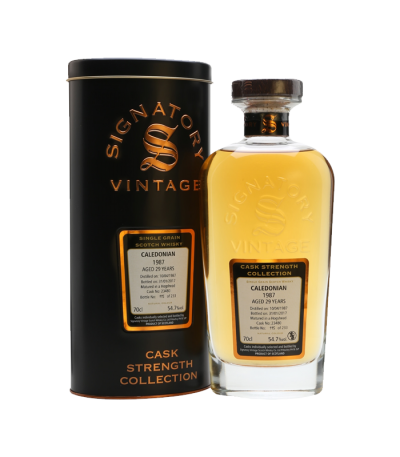 CALEDONIAN SINGLE GRAIN 29 YO 1987