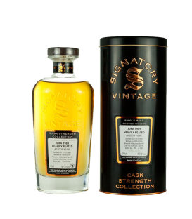 Jura 26 Años 1989 Heavily Peated Signatory Cask Strength Collection (70cl 57,6%)
