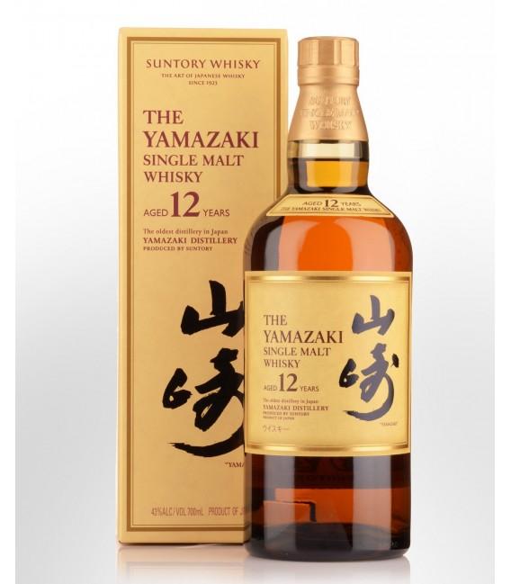 YAMAZAKI 12 YO, SUNTORY WHISKY (70cl, 43%)