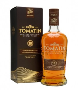 Tomatin 18 Años Sherry Cask (70cl 46%)